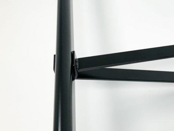 garderobesteun extra sterk 30 cm voor buis ovaal 38x20mm