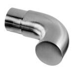 Gebogen eindkap voor buis RVS 304 33.7 en 42.4 mm