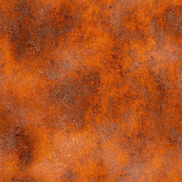 Plaat Cortenstaal verkleurd en geoxideerd