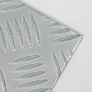 Plaat aluminium 5-traans