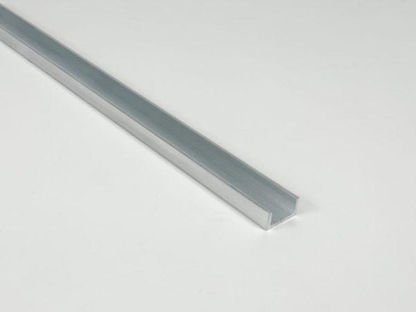 U-profiel aluminium los