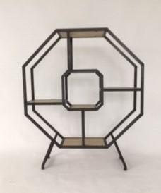 Design wandmeubel honingraad op pootjes